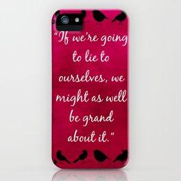 Nina Zenik iPhone Case