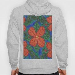 Luau Flower Print Hoody