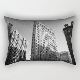 NYC Flatiron Building Rectangular Pillow