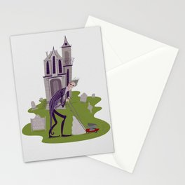Bob at the Funeral Parlour Stationery Cards