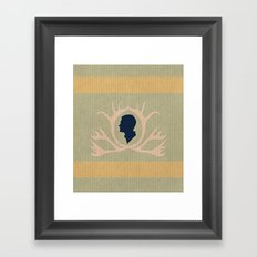 ivy leaguer Framed Art Print