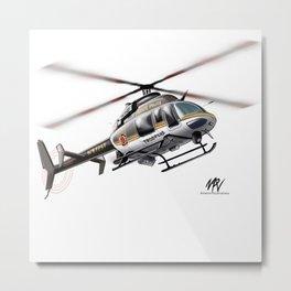 Troopers Bell 407 Metal Print