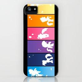 Rainbow Ponies iPhone Case