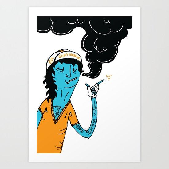 Modern Cyclist #1 Art Print