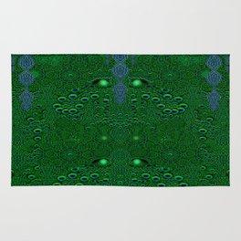 Dragon abstracte skin pattern Rug