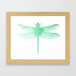 Dragonfly Insect Art Framed Art Print
