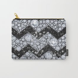 CHEVRON - Diamonds and Stars Carry-All Pouch