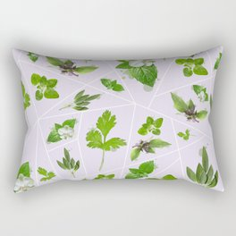 Herbs Rectangular Pillow