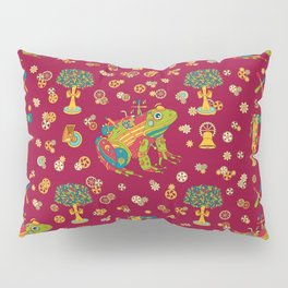 Frog, cool wall art for kids and adults alike Pillow Sham