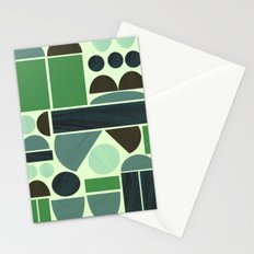 Town Hall (Green) Stationery Cards