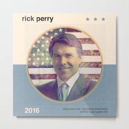 Rick Perry 2016 Metal Print