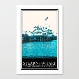 Stearns Wharf Canvas Print