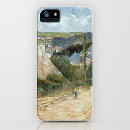 Entrance to the Village of Osny by Paul Gauguin iPhone Case