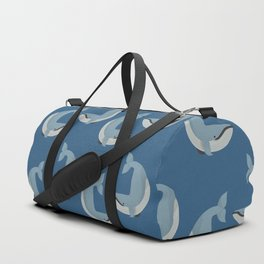 Whimsy Blue Whale Duffle Bag