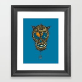 the pendulum Framed Art Print
