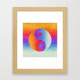 Yin and Yang II Framed Art Print
