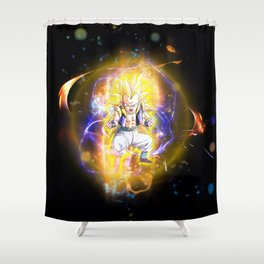 Gotenks SSJ3 Shower Curtain