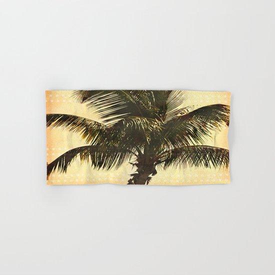 Palm On Film Hand & Bath Towel