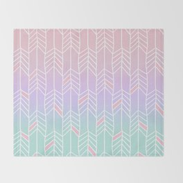 Cute Arrows Throw Blanket