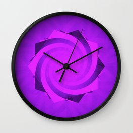 The Future of Pentagrams Wall Clock