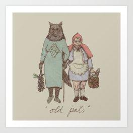 old pals Art Print