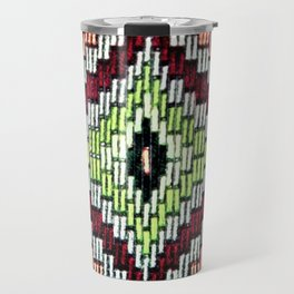 Bargello hourglass -  does anyone really know what time it is? Travel Mug