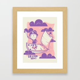 Dream away Framed Art Print