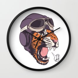 ACES HIGH! Wall Clock