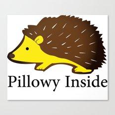 Pillowy Inside Canvas Print