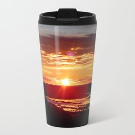 Ground Level Sunset Travel Mug