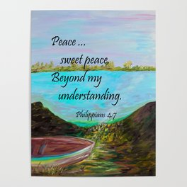Peace Sweet Peace Poster