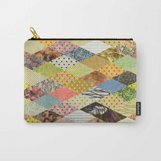 RHOMB SOUP / PATTERN SERIES 002 Carry-All Pouch