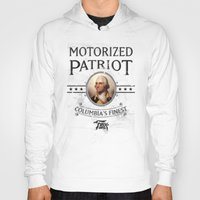 bioshock Hoodies featuring Bioshock Motorized Patriot by Liquidsugar
