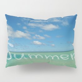 Summer Sandbar Sea Pillow Sham
