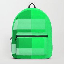 green pea pattern Backpack