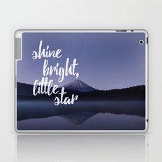 Shine Bright Little Star Night Sky Laptop & iPad Skin