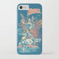 stickers iPhone & iPod Cases featuring BOUNTY HUNTER by BeastWreck