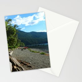 Lake Cresent Shore Stationery Cards
