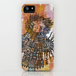 The Shaman's Song iPhone Case