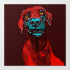 The Dogs: Rufus Canvas Print