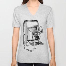Camera. Unisex V-Neck