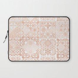 MOROCCAN TILES ROSEGOLD Laptop Sleeve