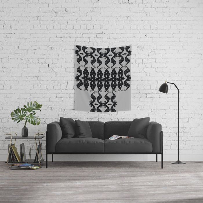 All-Seeing Eyes Wall Tapestry