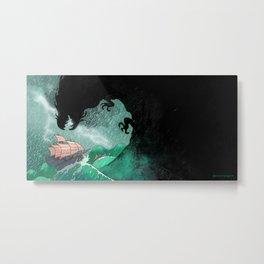 01: The Monster attacks Metal Print