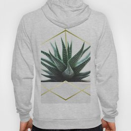 LUXE x SHEA - Gold plant life minimal Hoody