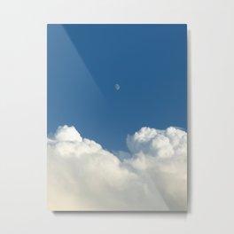 Day moon Metal Print