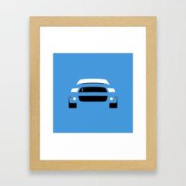 Ford Mustang Shelby GT500 ( 2013 ) Framed Art Print