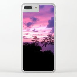 Mexican Sunset Clear iPhone Case