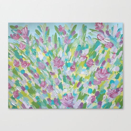 Spring flowering Canvas Print