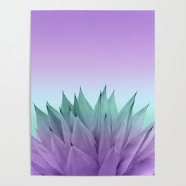 Agave Vibes #7 #tropical #decor #art #society6 Poster
